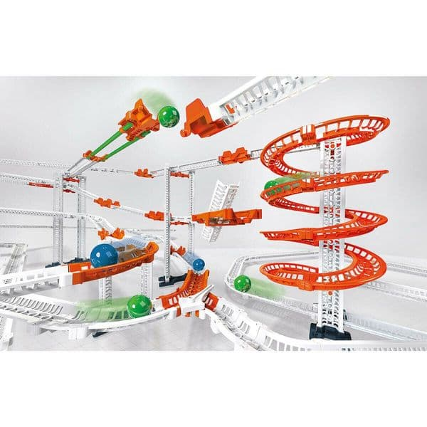 Clementoni Science Museum Action & Reaction Chaos Effect Marble Run Track Set